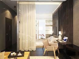 Home Designs: One Room Apartment Living TV - Studio