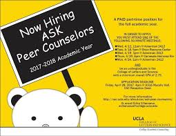 peer counselors 2017 flyer itok=AntO3Qzd