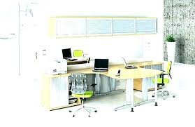 dual desk home office. Dual Office Desk Home Furniture Person Station