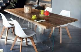 Tavolo design in legno grezzo narciso arredo design online