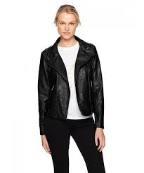 sebby collection womens asymmetrical leather