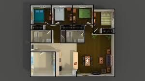 JMU Student Apartment Floor Plans