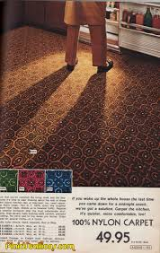 Kitchen Carpeting Flooring Plaid Stallions Rambling And Reflections On 70s Pop Culture