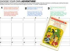Choose Your Own Adventure Story Template 76 Best Choose Your Own Adventure Images Educational Technology