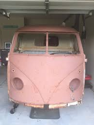 1960 VW VOLKSWAGEN TYPE II 2 PICKUP TRUCK SINGLE CAB BUS VANAGON ...