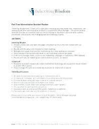 Admin Job Profile Resume Job Description Medical Administrative Assistant