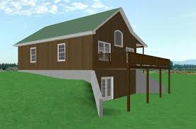 house plans with walkout basement. Small Country Cabin House Plan Walkout Basement Plans With W