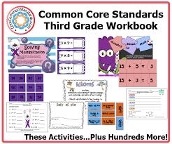 Third Grade Common Core Workbook DownloadThird Grade Common Core Activities ...