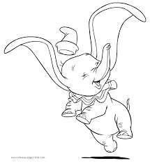 Delightful Story Of A Tiny Elephant Dumbo 20 Dumbo Coloring Pages