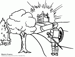 Pilgrims Progress Coloring Pages Get Coloring Pages