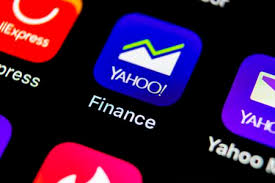 yahoo finance icon. Brilliant Finance SanktPetersburg Russia May 10 2018 Yahoo Finance Application Icon On Throughout Finance Icon O