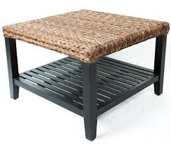Coffee Table Rattan Seagrass Coffee Table Glass Top Wicker Coffee Table Robertoboatcom