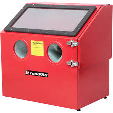 Sand Blasting Cabinets Toolpro Sand Blasting Cabinet 100l Supercheap Auto