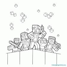 Coloring Pages Minecraftoring Book Pages Free Printable