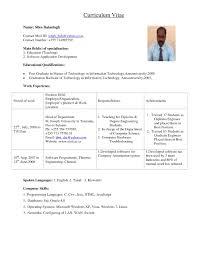 Format My Resume Gulijobs Com