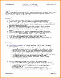8 Qa Engineer Resume Letter Of Apeal