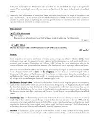 caribbean studies model essays 5