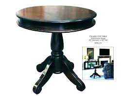 metal and wood round accent table small wood side table small wood side table full size