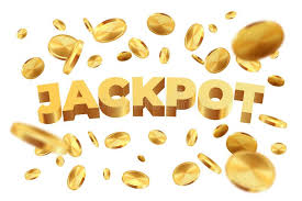 Jackpot With Golden Coins. Realistic Jackpot Money Rain. Vector 3D Gold  Sign On White Background Stock Vector - Illustration of falling, element:  156258671