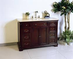 Legion Bathroom Vanity Legion W5428 11 48 Dark Cherry Brown Single Sink Vanity With A