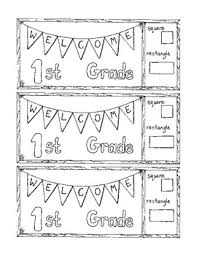 48 First Grade Coloring Page Welcome To First Grade Coloring Page