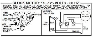 how to connect intermatic t101 timer diagram