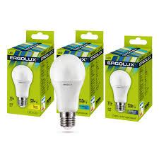 Электрическая светодиодная <b>лампа Ergolux</b> LED-A60-<b>17W</b>-<b>E27</b> ...