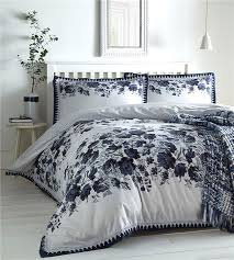 duvet sets fl print luxury white