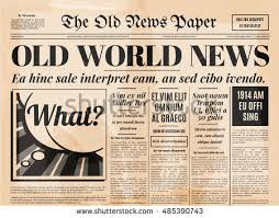 Victorian Era Newspaper Template Vintage Old Newspaper Background Download Free Vector Art Stock