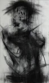kho shin unled charcoal on canvas 2018 charcoal art charcoal drawings