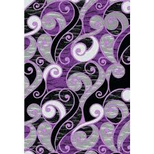 gray and purple rug whole area rugs depot modern swirls a grey yellow gray and purple rug