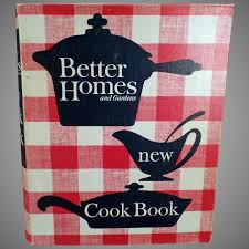 vintage better homes and gardens 1965 new cook book with recipe ogee s antiques ruby lane