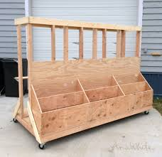 ana white ultimate lumber and plywood storage cart diy projects intended for snazzy wood storage rack applied to your residence design