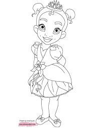 Little Princess Colouring Pages With Beauty Princess Colouring Pages