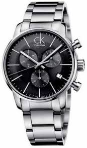 calvin klein watches official uk retailer first class watches calvin klein mens city stainless steel grey dial watch k2g27143