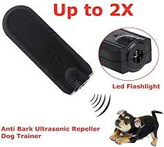 Electronic Anti Bark Device Repeller Trainer Ultrasonic Dog Barking ...
