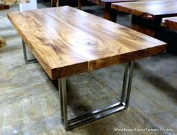 rustic wood and metal dining table modern wood and metal dining table mesmerizing modern wood dining