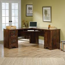 small corner office desk. Lovely Small Corner Office Desk Elegant : Impressive 7046 Furniture For 2 Black Cherry L Shaped With Ideas E