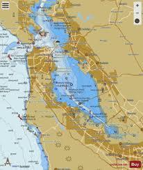 San Francisco Bay To Antioch Marine Chart Us18652_p1828