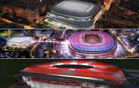And that'll be the case for atletico madrid at the end of this season when interviewing fans outside the calderon as they chose their seats for season tickets in the new stadium, as reported one supporter as saying. How Real Madrid Atletico Madrid And Barcelona S New Stadium Projects Compare Calcio E Finanza