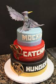 really cool hunger games cakes.  Really This Is A Really Awesome Hunger Games Cake  Okwho Going To Make This  For My Birthday You Have Until November 15th D And Really Cool Cakes E