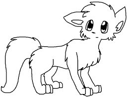 warrior cat drawing outline. Perfect Cat Warrior Cat Template 2 By ShayminLover101  Throughout Drawing Outline S
