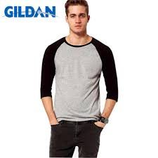 <b>Gildan</b> New <b>Fashion Summer</b> Autumn <b>Men</b> T Shirts O-Neck 100 ...