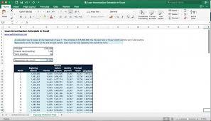 Loan Amortization Schedule Calculator