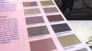Rainbow Cement Colors Youtube