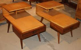 Pair of Mid-Century Modern Jetson Style End Side Tables 2