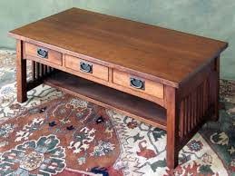 Good ... Coffee Table, Mission Style Coffee Table With Drawers Mission Style  Coffee Table Plans Free: ... Pictures Gallery