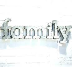 metal words wall decor custom made love word home art thankful galvanized uk hi