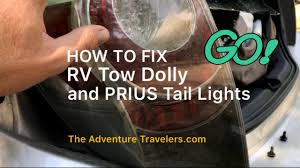fix rv tow dolly and prius tail lights Tow Dolly Light Wiring Diagram Tow Dolly Plans Diagram