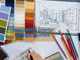 best interior design courses